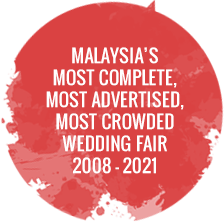 Welcome to 22nd KLPJ Wedding Fair 2019 - 20-22 September 2019 - Mid